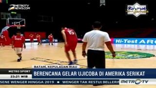 Timnas Basket Putra Gelar Pemusatan Latihan di Batam