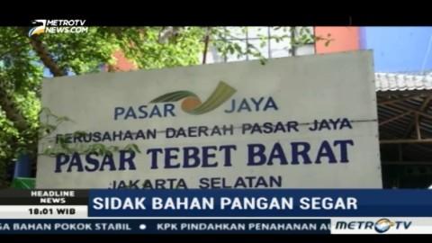 Sudin KPKP Razia Lima Pasar di Jaksel