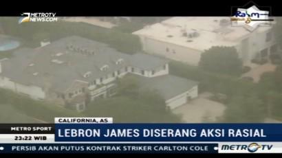 Rumah LeBron James Diserang Aksi Vandalisme Rasis
