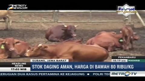 Mendag Janji Harga Daging Sapi di Bawah Rp80 ribu/kg