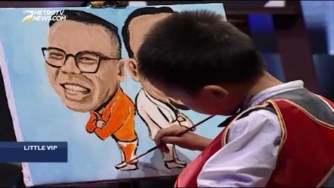 Indahnya Lukisan Karya Anak Umur 6 Tahun