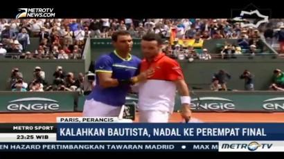 Rafael Nadal Melaju ke Perempat Final Prancis Terbuka 2017