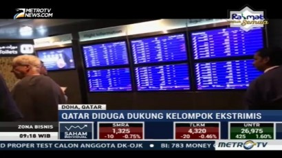 Qatar Airways Setop Penerbangan ke 4 Negara Arab