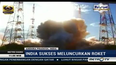 Akhirnya, India Sukses Luncurkan Roket Terbesarnya