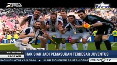 Juventus Raih Pemasukan Tertinggi di Liga Champions Eropa