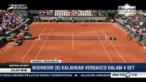 Nishikori Kalahkan Verdasco Dalam 4 Set