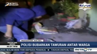 Tawuran Pemuda di Kota Makassar Kembali Pecah