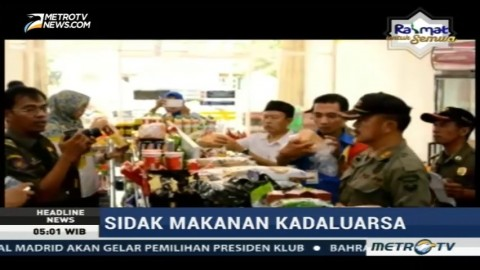 Satgas Gabungan Sita Barang Kedaluwarsa dari Minimarket di Musi Rawas