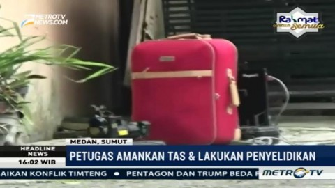 Koper Mencurigakan Hebohkan Asrama Polisi Medan