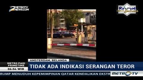 Mobil Tabrak Pejalan Kaki di Amsterdam, Enam Terluka