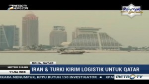 Iran dan Turki Kirim Bantuan Logistik untuk Qatar