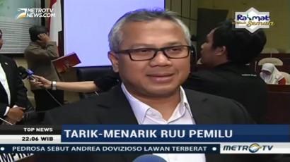 Ketua KPU: Harusnya RUU Pemilu Sudah Selesai Tahun Lalu