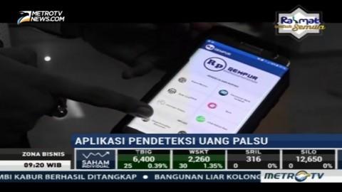 Aplikasi Pendeteksi Uang Palsu