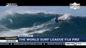 The World Surf League Fiji Pro