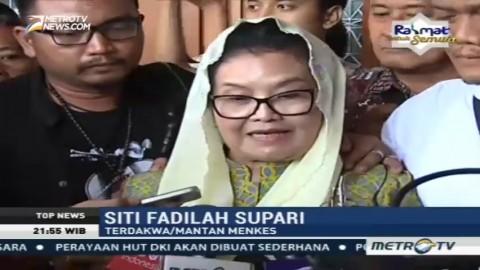 Divonis 4 Tahun Penjara, Ini Tanggapan Siti Fadilah Supari
