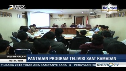 KPI Evaluasi Program Ramadan di Televisi
