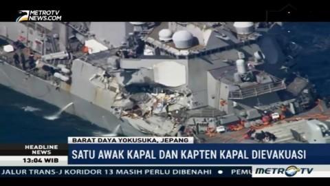 Pascatabrakan, Awak dan Kapten Kapal AS Dievakuasi