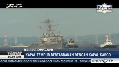 Pascatabrakan, Tujuh Awak Kapal AS Hilang