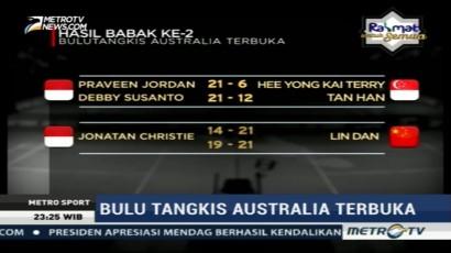 Praveen/Debby Melaju ke Babak Perempat Final Australia Terbuka