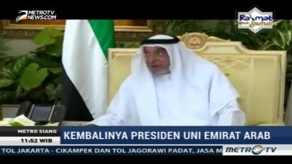 Kembalinya Presiden Uni Emirat Arab Jadi Sorotan Publik