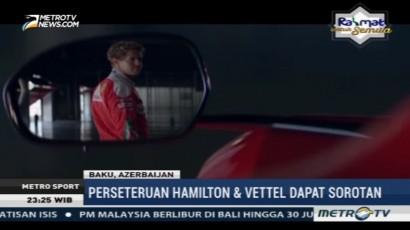 Perseteruan Hamilton dan Vettel Dapat Sorotan