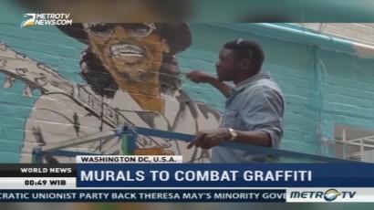 Murals to Combat Graffiti in Washington