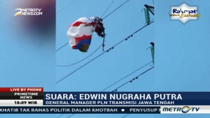 PLN Merugi Ratusan Juta Akibat Balon Udara Tersangkut di Jaringan Listrik