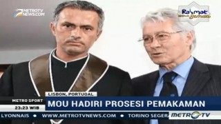 Mourinho Lepas Kepergian Sang Ayah