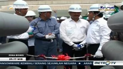 Inalum Luncurkan Produk Perdana Aluminium Billet