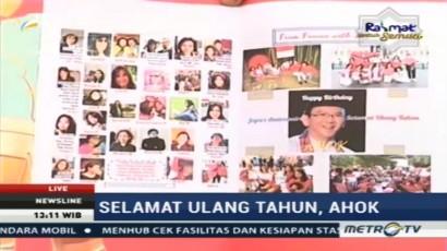 Ahok Ulang Tahun, Relawan Bawa Bingkisan ke Mako Brimob