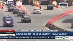 Arus Lalin di GT Cileunyi Ramai Lancar