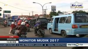 Arus Lalin Jalur Pantura Cirebon Ramai Lancar
