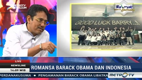 Romantisme Obama dan indonesia (1)
