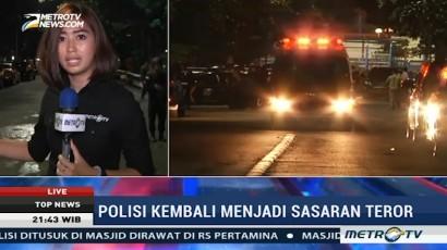 Polisi Lakukan Olah TKP Penusukan Brimob