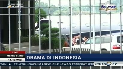 Obama Bertolak ke Korea Selatan
