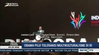 Obama Puji Toleransi dan Multikulturalisme di Indonesia