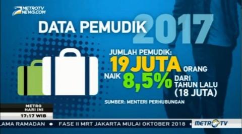 Angka Kecelakaan Mudik Lebaran 2017 Turun 51%