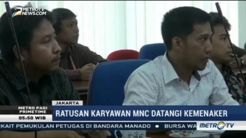Terkena PHK, Ratusan Karyawan MNC Group Mengadu ke Kemenaker