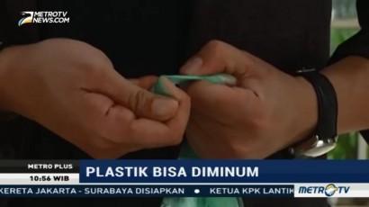 Bioplastik, Plastik yang Bisa Diminum
