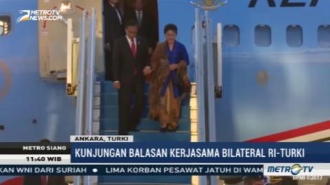 Presiden Jokowi dan Rombongan Tiba di Turki