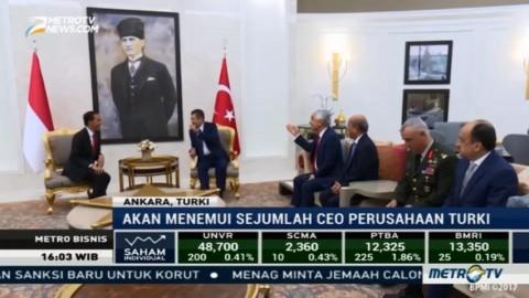 Jokowi Dijadwalkan Bertemu Sejumlah Pengusaha Turki