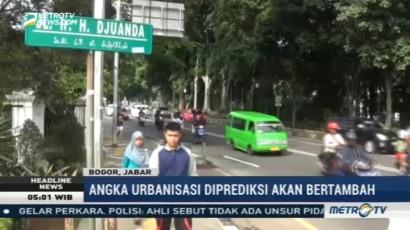 Angka Urbanisasi di Bogor Diprediksi Bertambah