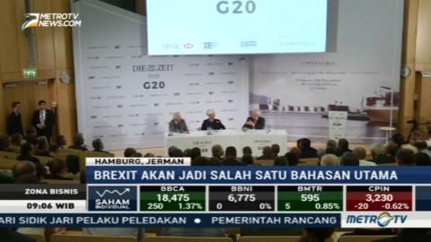 Proteksionisme AS dan Brexit akan Jadi Bahasan di KTT G20
