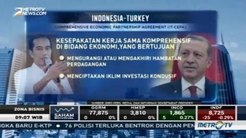 Indonesia-Turki Perkuat Kerja Sama Ekonomi