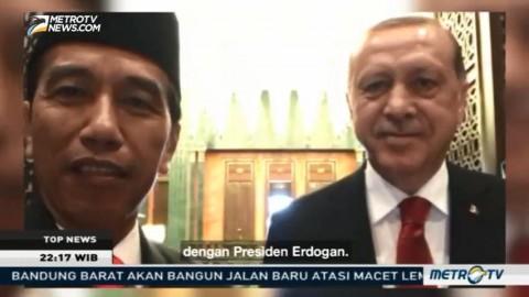 Jokowi Ajak Erdogan Sapa Netizen