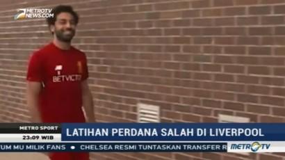 Mohamed Salah Gabung Latihan Perdana Bersama Liverpool