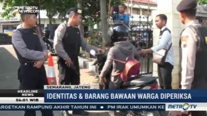 Polres Semarang Perketat Keamanan Markas