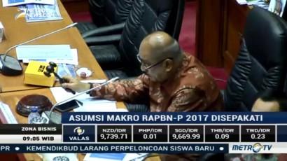 Komisi XI Sepakati Asumsi Makro dalam RAPBNP 2017