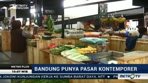 Bandung Punya Pasar Kontemporer