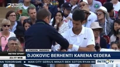 Cedera Siku, Djokovic Mundur dari Wimbledon